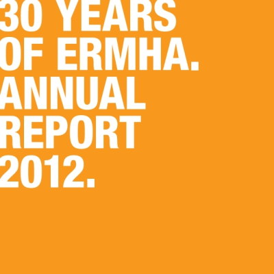 Publication cover image: ermha Annual Report 2012